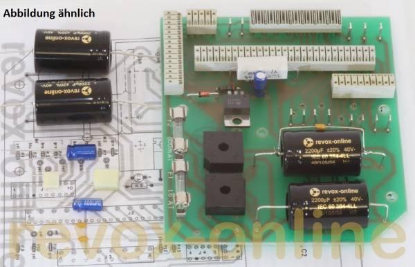 Kondensatorsatz Revox B77 Netzteil