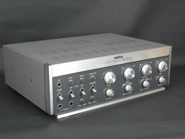 Revox Verstärker B750 MK II mit Ringkerntrafo
