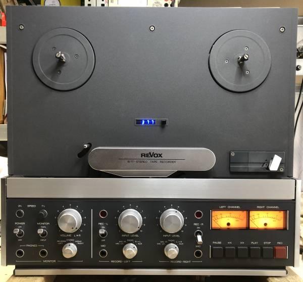 Revox B77 MKI 4-Spur mit Digitalzähler