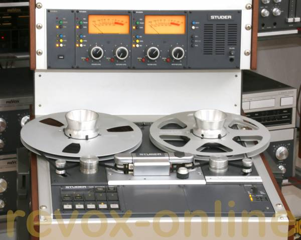 Studer A810 Bandmaschine mit Rollwagen