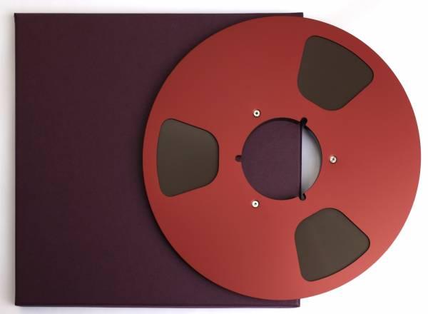 LPR35 auf Aluspule in rot mit Schuber, 3 Loch