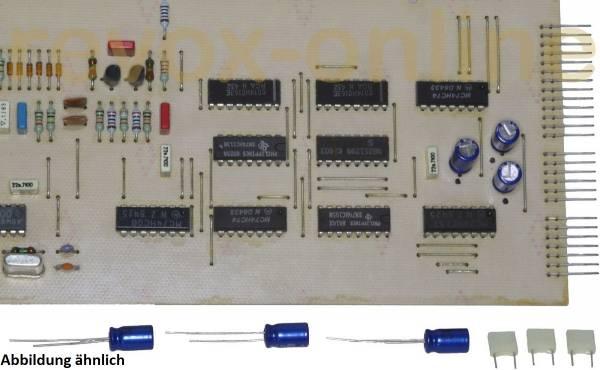 Kondensatorsatz Revox B225 für Decoder-PCB