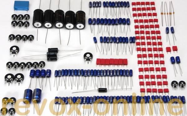 Kondensatoren- und Trimmersatz für Revox PR99 MK II