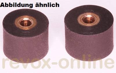 Gummi-Andruckrollen 2 Stück für Revox Studer A710, B710, 8.0mm u. 8.6mm
