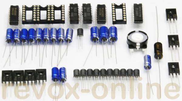 Reparatursatz Revox B77 Tape Drive Control mit Triacs mit TTL-ICs