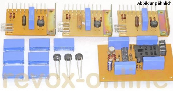 7 x 470nF X2-Entstörkondensatoren für Studer Revox A700 plus 3 Gleichrichter