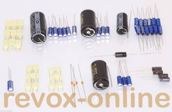 Kompletter Kondensatorensatz für Revox B760 mit Plänen