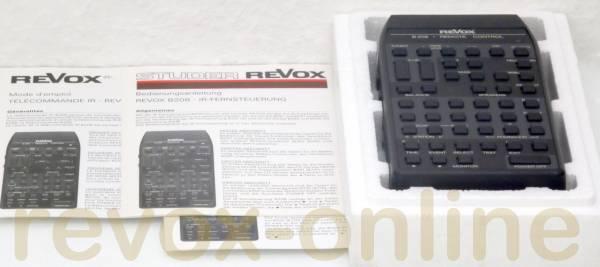 Revox B208 Fernbedienung, OVP und Bedienungsanleitung