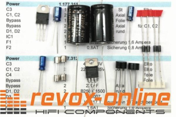 Reparatursatz Netzteil für Revox B77