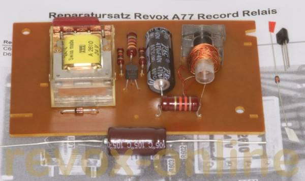 Reparatursatz Revox A77 Record Relais