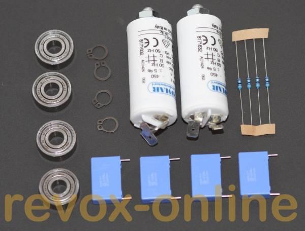 Reparatursatz Wickelmotor für Revox A77