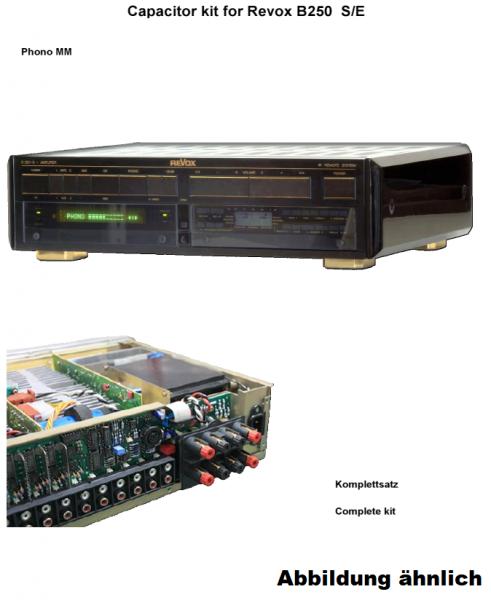 Kompletter Kondensatorensatz Revox B150 ohne Ladekondensatoren