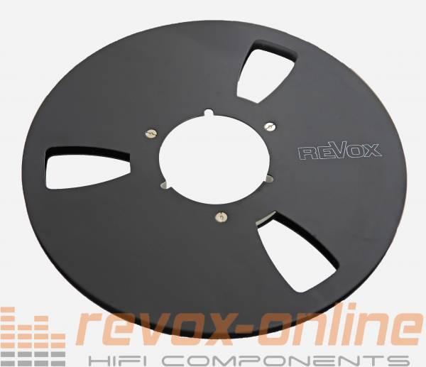 Revox Alu-Leerspule schwarz