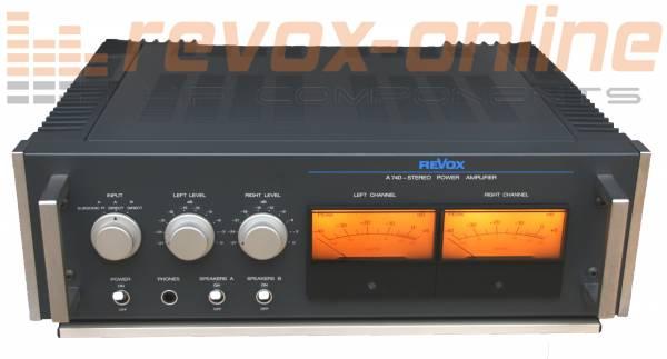 Revox A740 Endstufe