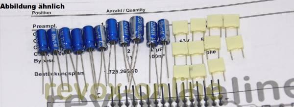 Kondensatorensatz Revox B150 Vorverstärker