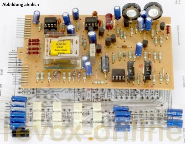 Kondensatorsatz + Relais Revox B77 Monitor-Platine