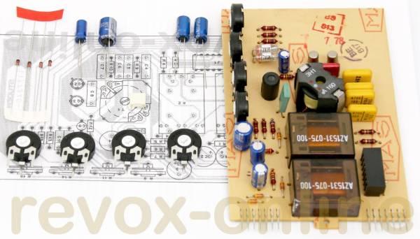 Reparatursatz Revox B77 Oszillator-Platine