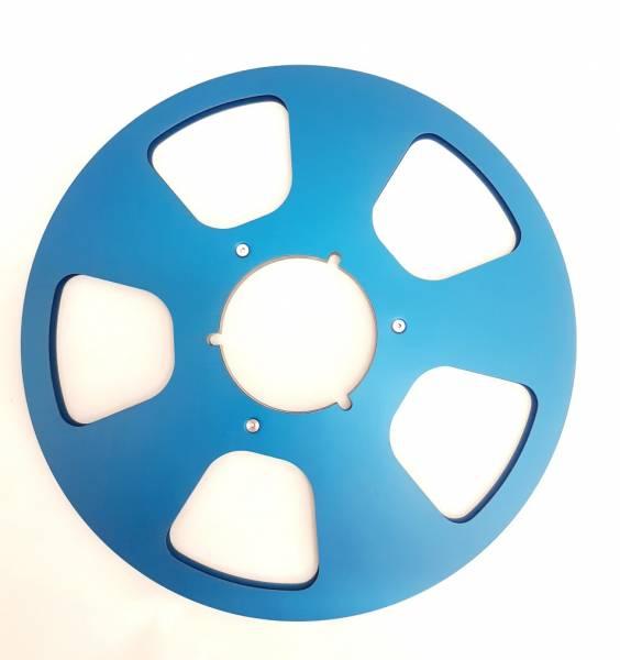 Leerspule in blau, 5 Loch