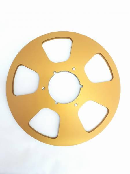 Leerspule in gold, 5 Loch