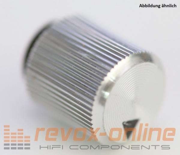 Knopf 11mm gerändelt Revox B77, B760, B750, B710, B780, gebraucht