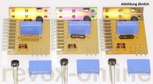3 x 470nF X2-Entstörkondensatoren für Studer Revox A700 und 3 Gleichrichter (rund)