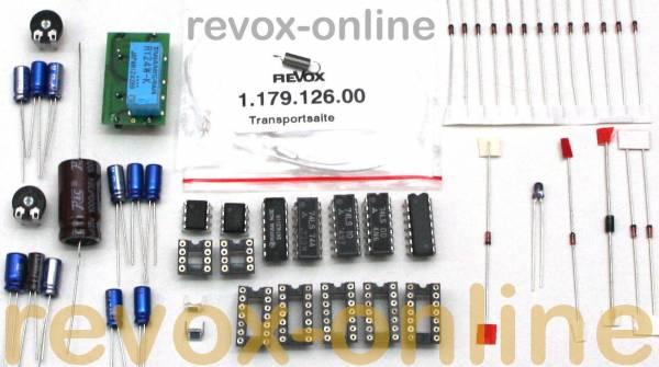 Reparatursatz Tonarm + Steuerung für Revox B791 mit Pickup