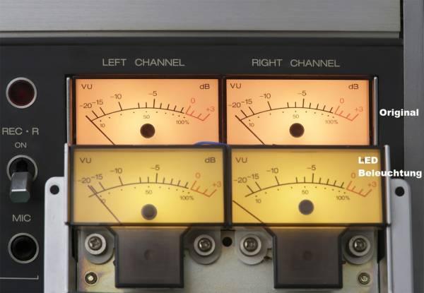 LED Beleuchtungen für alle Revox B77 und PR99 VU-Meter