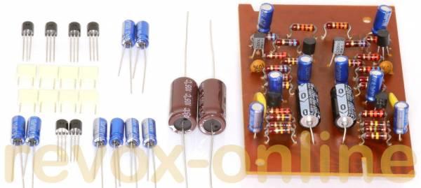 Reparatursatz Eingangs- / Input-Platine (1.077.700) für Revox A77