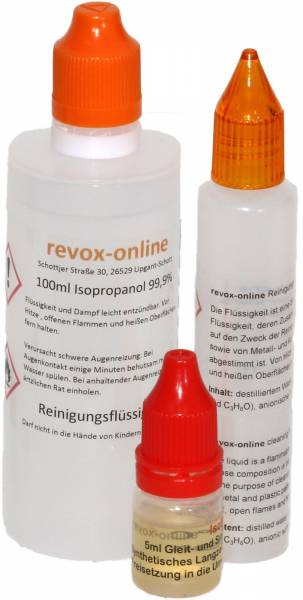 Pflegesatz für Revox A700