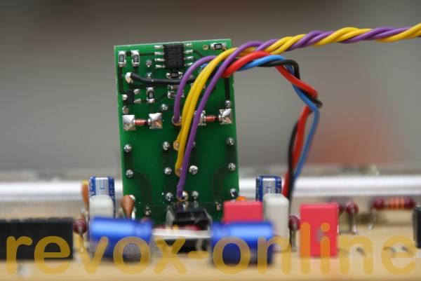 Einschaltverzögerung für Revox A700