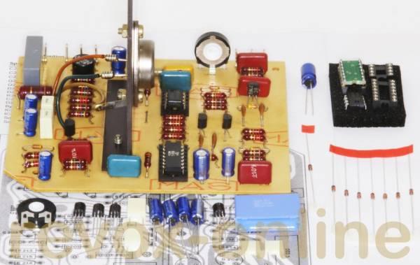 Reparatursatz Speedcontrol für Revox A77, IC-Version (1.077.724 / .729 )