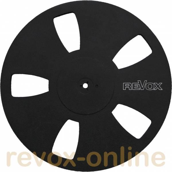 Revox Kunststoff-Leerspule 5-Loch, schwarz