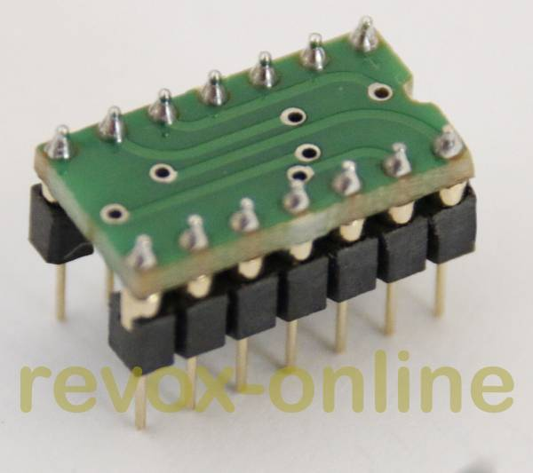 Ersatz für ICs SN 76131, RC 4739, TBA 931,TBA 231, µA739, µA749 mit NE5532