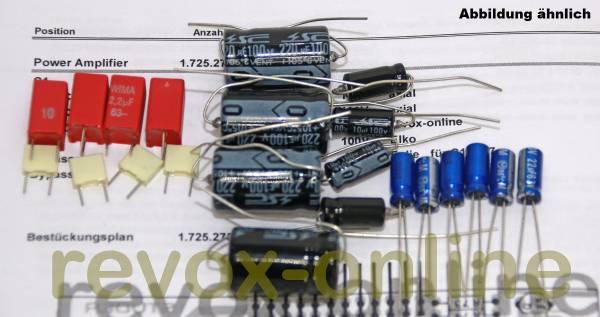 Kondensatorensatz Revox B150 Power Amplifier