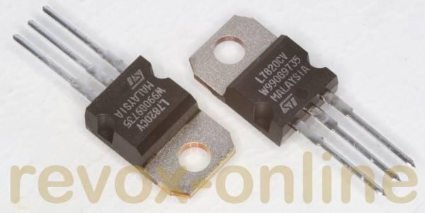 Spannungsregler LM7820, 20V, 1,5 A, uA7820 o.ä. (2 Stück)