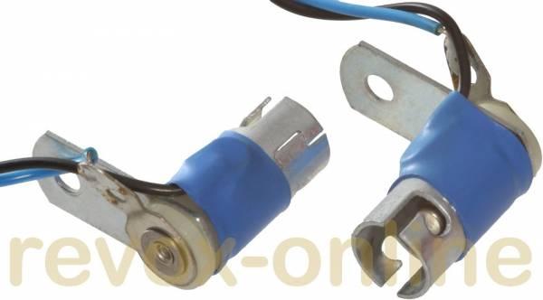 Lampenfassungen BA9s, Lamp connector Studer A725 oder Revox B225 gebraucht, 2 St