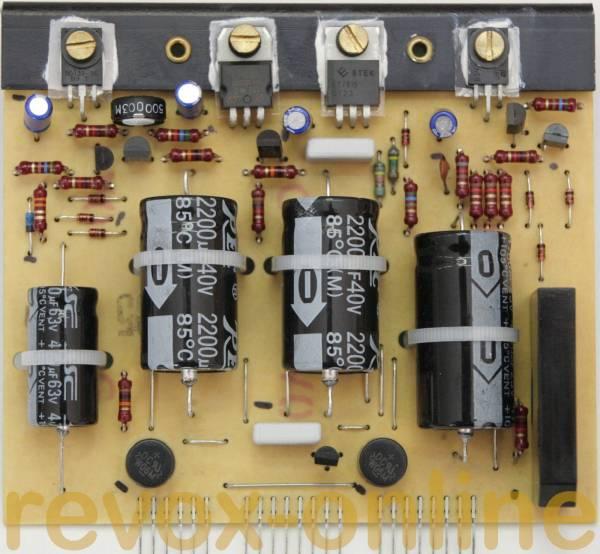Reparatursatz Revox B739, B780, B760 Netzteil
