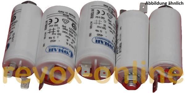 Motorkondensatoren Studer B67 (2x1 5µF, 2x6,0µF, 1x3,5µF - 4,0µF)