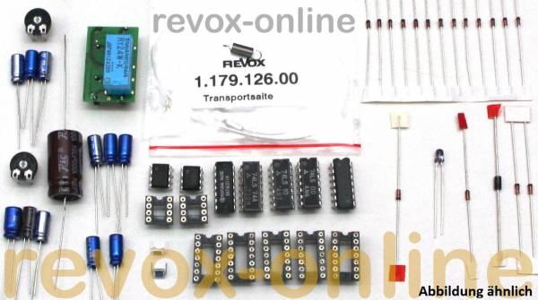 Reparatursatz Revox B791 Tonarm + Steuerung