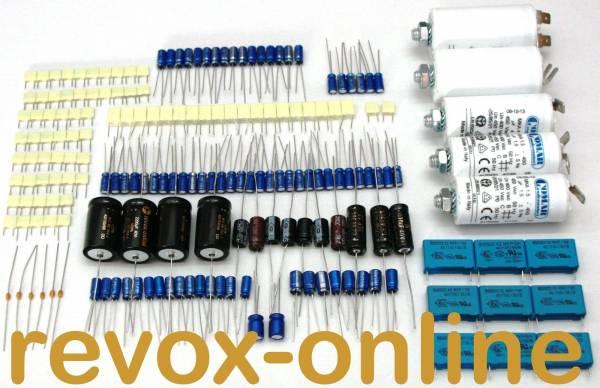 kompletter Kondensatorensatz Revox A700