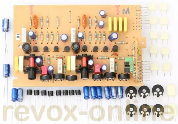 Reparatursatz Revox B77 Record-Platine