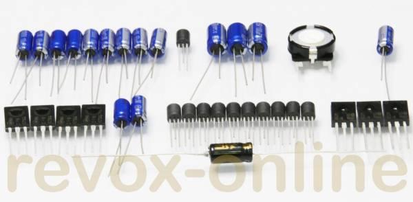 Reparatursatz Tape Drive Control / Steuerung für Revox B77 MK I + MK II mit Triacs ohne TTL-ICs