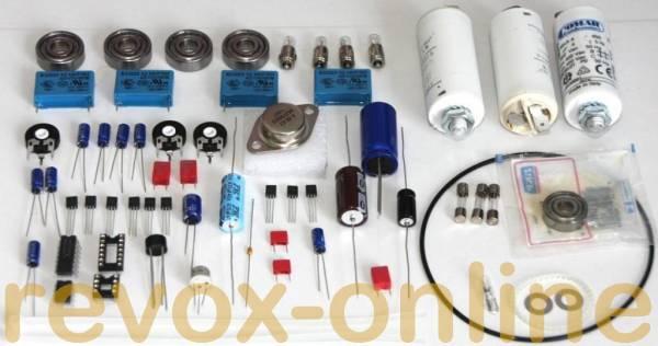 Reparatursatz Laufwerksatz mit Netzteil für alle Revox A77 (MKI bis MKVI)