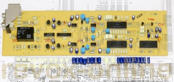 Kondensatorsatz Revox B225 DAC-PCB
