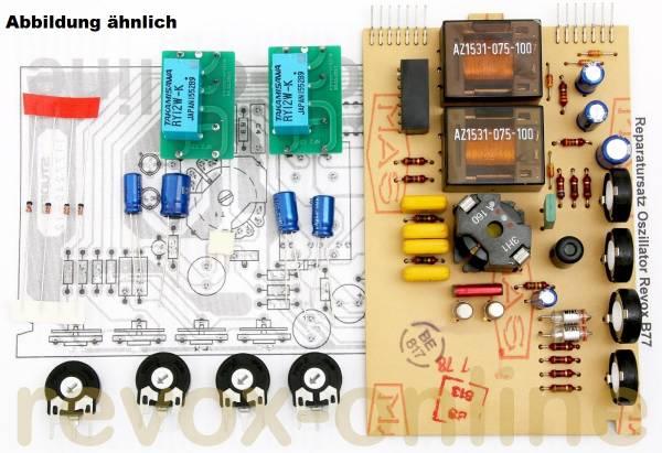 Reparatursatz Revox B77 Oszillator mit Relais