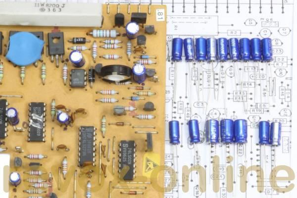 Kondensatorensatz, Komplettsatz für Revox B77