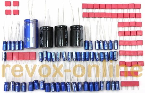 Kondensatorensatz, Komplettsatz für Revox B225 CD-Player