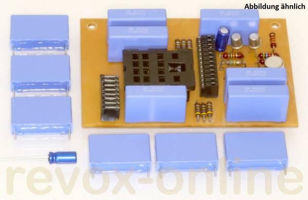X2-Entstörkondensator 470nF (6 Stück) für Revox A700 plus 1x Elko 10µF