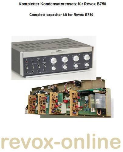 Kondensatorensatz, Komplettsatz für Revox B750