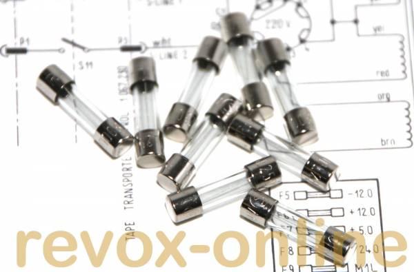 Sicherungssatz für Revox A700